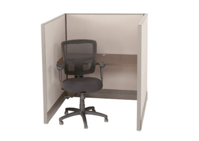 Herman Miller AO 4x4x53H w OEM Fabric and Orginal worksurfaces