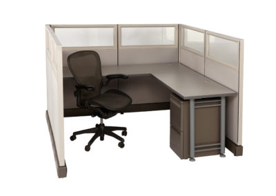 Herman Miller AO2 6x6x53h w Glass